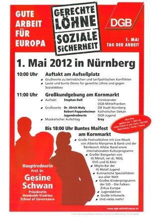1. Mai Nürnberg