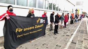 Menschenkette Nürnberg