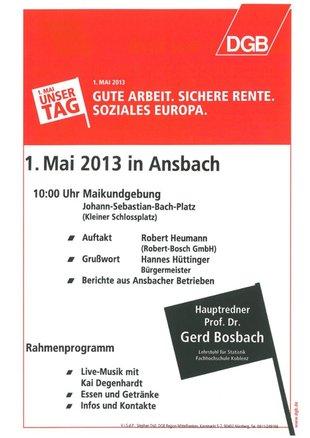 1. Mai Ansbach