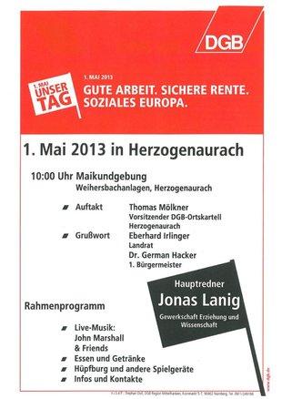 1. Mai Herzogenaurach