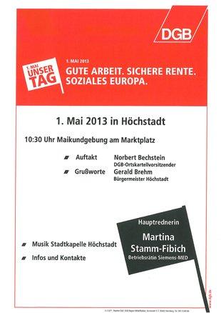 1. Mai Höchstadt