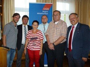 Neuer Vorstand des DGB KV Roth-Schwabach