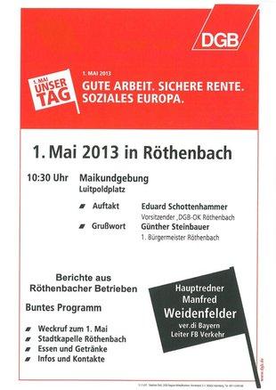 1. Mai Röthenbach