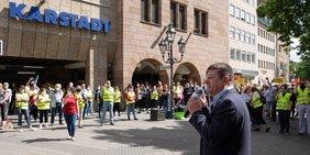 Kampf um Karstadt