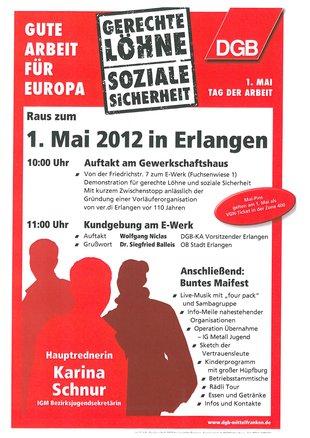 1. Mai Erlangen