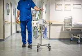 Personal im Krankenhaus