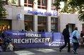 Banner an Deutscher Bank